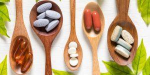 Reposição de vitaminas e minerais